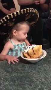 Little Girl Gets Grumpy Over Her Birthday Celebration [Video]