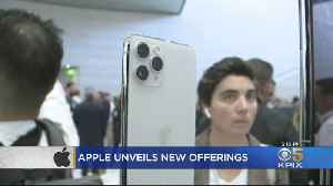News video: Apple Upgrades Cameras On New iPhone, Introduces Gaming And Video On Demand Services