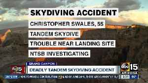 News video: Deadly skydiving accident at the Grand Canyon