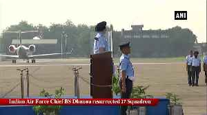 Air Chief BS Dhanoa resurrects 17 Squadron as 1st unit to operate Rafale jets [Video]