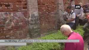Cantebury Archbishop expresses emotion by lying on floor of Jallianwala Bagh [Video]