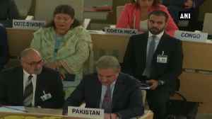 News video: Kashmir is not internal matter of India Pak Foreign Minister at UNHRC