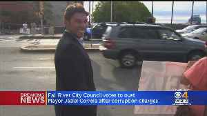 Fall River Mayor Jasiel Correia Ousted By City Council [Video]