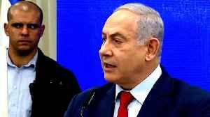 News video: Netanyahu announces post-election plan to annex Jordan Valley