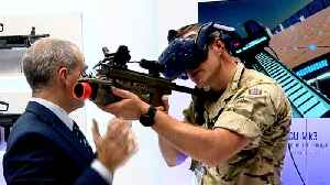 Huge arms trade fair draws dealers and politicians to London [Video]