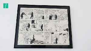Tintin Comic Strip, Complete With Creator's Blood, Expected To Sell For Over £350k [Video]