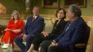 News video: Downton Abbey stars on 'escaping' politics