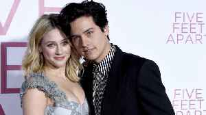 News video: Lili Reinhart confirms Cole Sprouse is still her 'boyfriend'