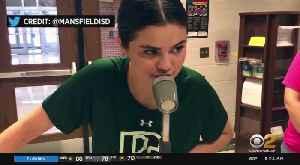 News video: Selena Gomez Surprises Old Middle School
