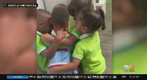 News video: Toddler Welcomed Back To School After Storm