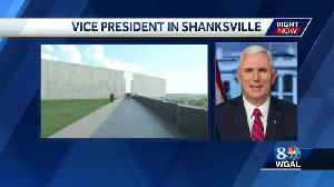 Vice President Mike Pence to speak today in Shanksville, Pa. [Video]