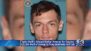 News video: Taylor Swift Suspect Charged In Trump Golf Course Damage