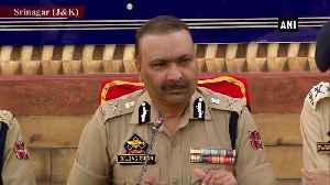 All 10 districts of Jammu have become entirely normal JK DGP [Video]