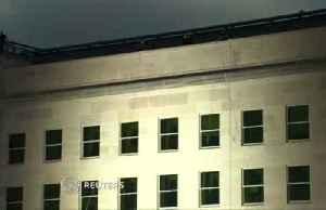 Flag unfurled, U.S. military remembers 9/11 [Video]
