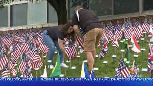 News video: High School Students Create Memorial To Honor Those Who Died In September 11th Attacks