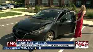 Uber driver not covered by company's insurance [Video]