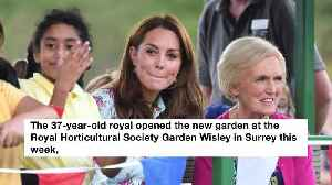 Duchess Catherine opens her Back to Nature play garden [Video]