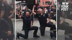 New Zealand firefighters honor 9/11 through dance [Video]