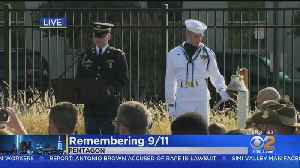 Americans Mark 18th Anniversary Of 9/11 Terrorist Attacks [Video]