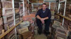 Meet the eccentric collector of 3,500 bricks [Video]