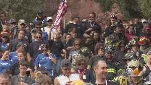 9/11 Red Rocks Stair Climb Honors Firefighters [Video]