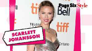 Scarlett Johansson sparkled in a $4,100 look at the Toronto Film Festival [Video]