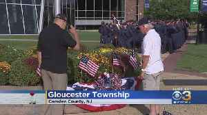 Wreath Laying Ceremony Held At Camden County College To Mark 9/11 Anniversary [Video]