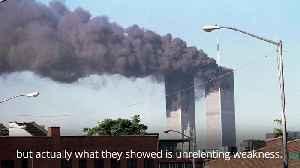 News video: Donald Trump marks 18th anniversary of 9/11 terror attacks at the Pentagon