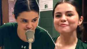 Selena Gomez RETURNS To Her Middle School & REVEALS She Used To Eat Lunch ALONE! [Video]