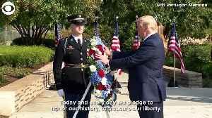 WEB EXTRA: September 11 Ceremonies [Video]