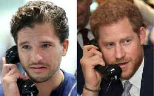 Kit Harington and Prince Harry Take Part in 9/11 BGC Charity Day [Video]