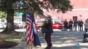 Newport News Police and Fire Department hold Remembrance Ceremony for 911 victims [Video]
