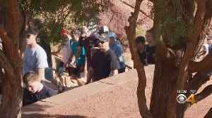 News video: Climb Up Red Rocks Stairs Honors Firefighters, Others Killed On 9/11