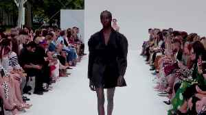 Watch Anok Yai Take the Tom Ford Show By Storm [Video]