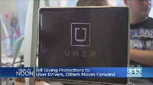 California Close To Passing Protections For Rideshare Drivers [Video]
