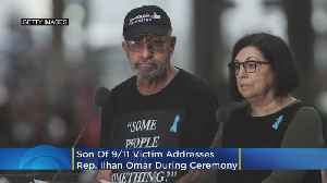 'Some People Did Something': Son Of 9/11 Victim Address Ilhan Omar During Memorial Ceremony [Video]