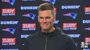 Tom Brady Doesn't Comment On Antonio Brown Accusations [Video]