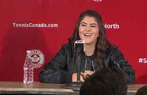 News video: U.S. Open champ Bianca Andreescu returns home to Canada