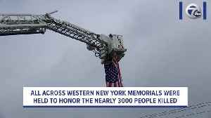 Memorials held across WNY to honor 9/11 terrorist attack victims [Video]