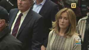 Felicity Huffman Requests Year Of Probation [Video]