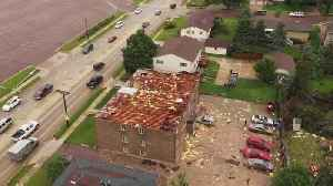 NWS: 3 EF-2 Tornadoes Sweep Across Sioux Falls [Video]