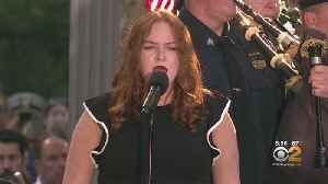 Long Island Teen Sings 9/11 Ceremony's National Anthem [Video]