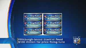 News video: StarKist To Pay $100 Million In Price-Fixing Case