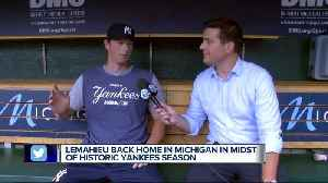 DJ LeMahieu back home in the midst of historic Yankees season [Video]