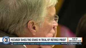 Accuser says he didn't want to get retired Catholic priest 'in trouble' by reporting sexual abuse [Video]