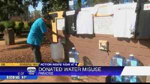 Drinking water misuse in Paradise [Video]