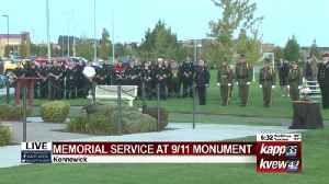 City of Kennewick hosts 9/11 memorial service at WTC monument [Video]
