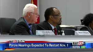 Parole Hearings Expected To Restart Nov. 1 [Video]