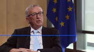 Exclusive: Juncker brands Britons 'part-time Europeans' who were never fully in the union [Video]