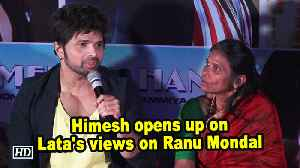 News video: Himesh opens up on Lata's views on Ranu Mondal